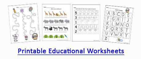 printable educational worksheets by Crafting Jeannie