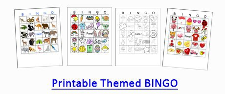 printable bingo cards by crafting Jeannie
