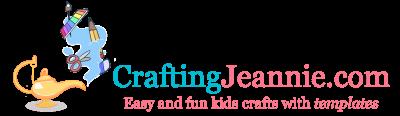 Crafting Jeannie Kids Crafts Logo