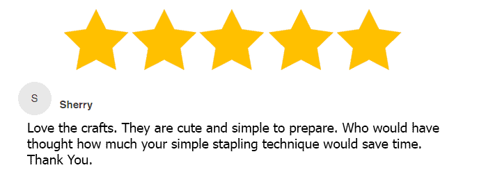 five star review of ebook