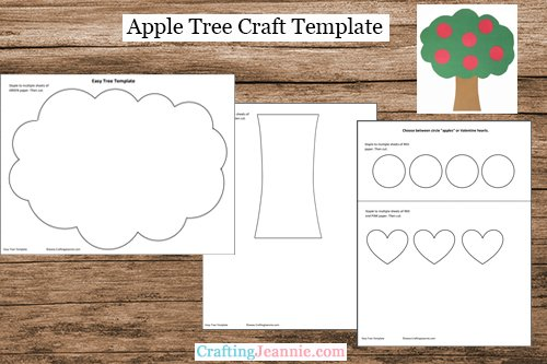Apple Tree Craft Template
