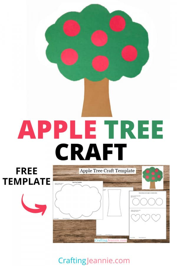 Apple Tree Pinterest Pin by Crafting Jeannie