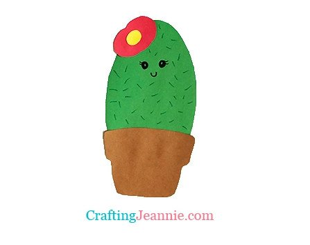 cactus craft by crafting Jeannie