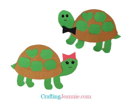 Turtle Craft by Crafting Jeannie