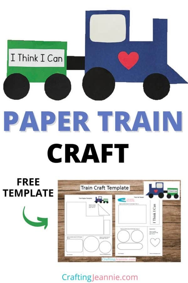 Train Craft for Pinterest