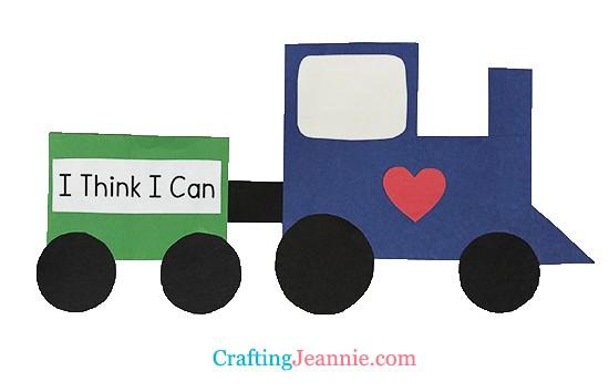 train craft by Crafting Jeannie