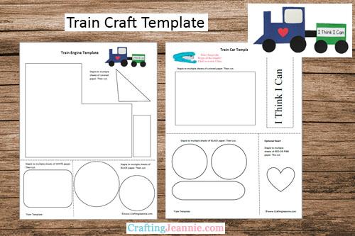Train Craft Template