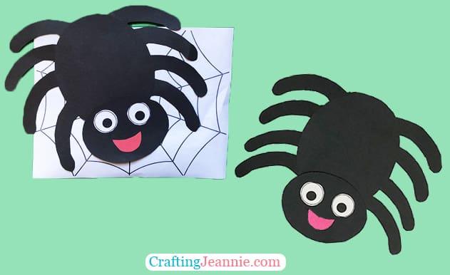 Spider Craft by Crafting Jeannie