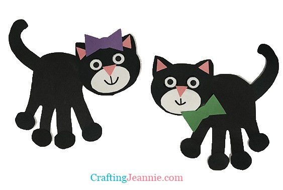 Black Cat Craft by Crafting Jeannie